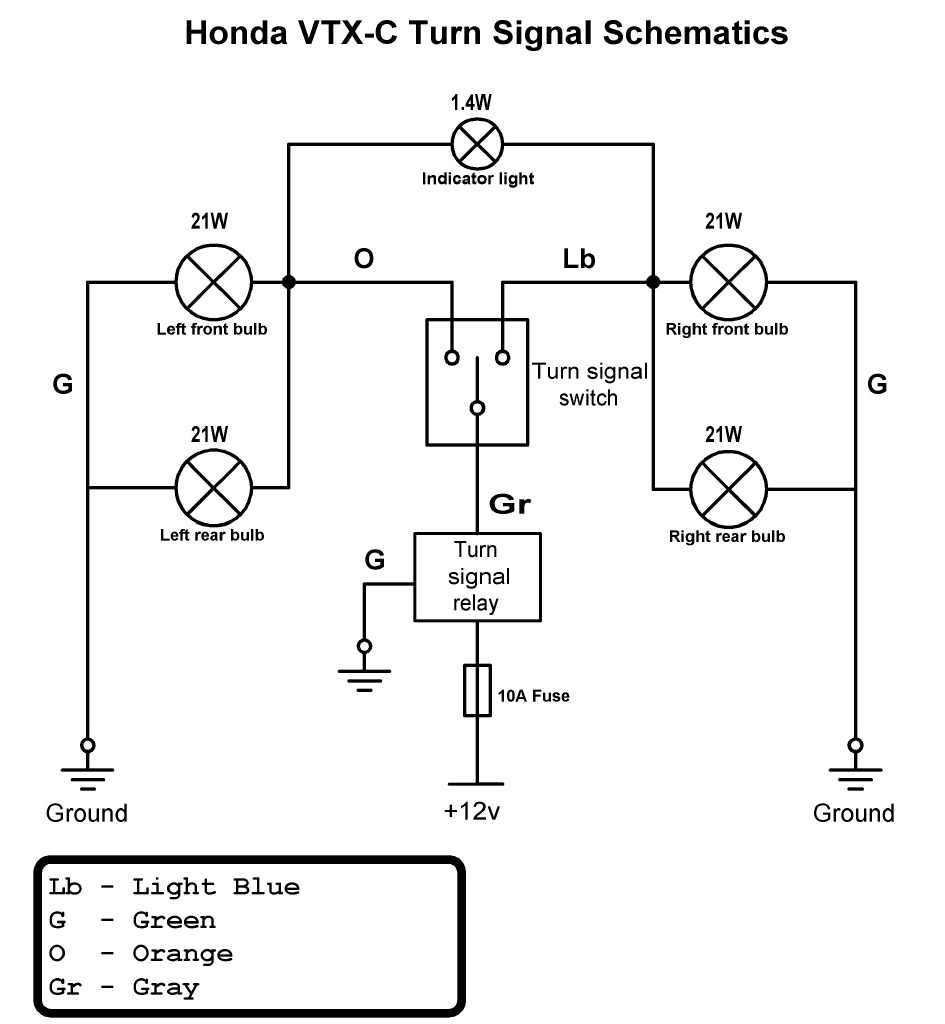 signalschem 1800 electrical;starter switch; headlight, wire a relay, led turn 2006 honda vtx 1300 wiring schematic at virtualis.co
